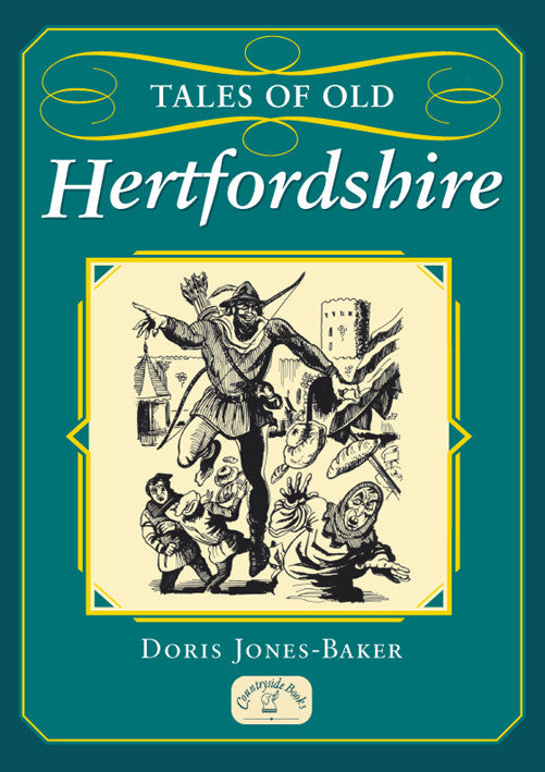 Tales of Old Hertfordshire book cover. Local county stories, folklore and traditions.