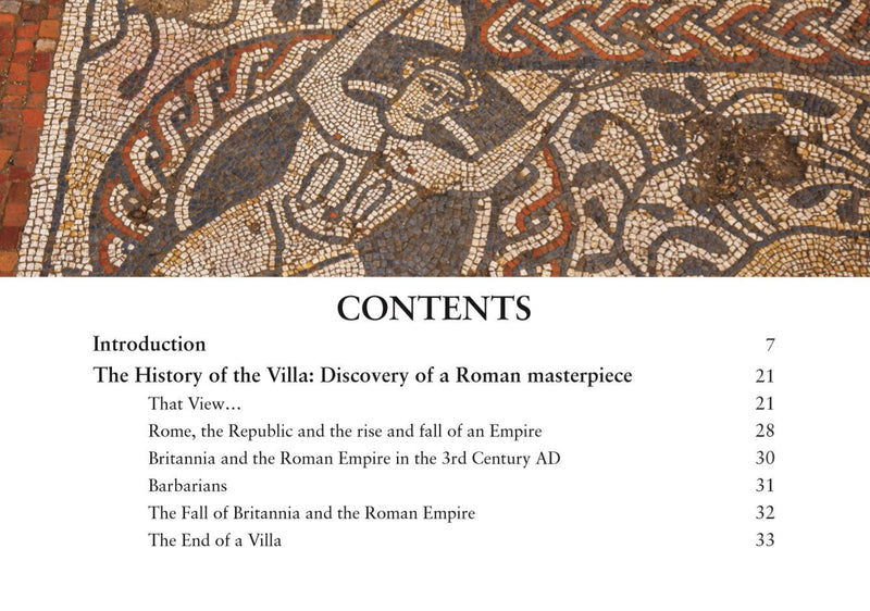 The Boxford Mosaic - A Unique Survivor from the Roman Age Contents Page 1