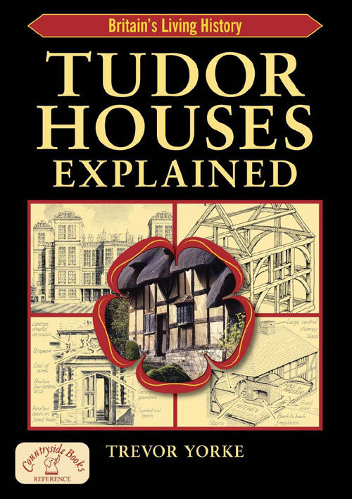 Tudor Houses Explained book cover. Architectural styles reference guide.