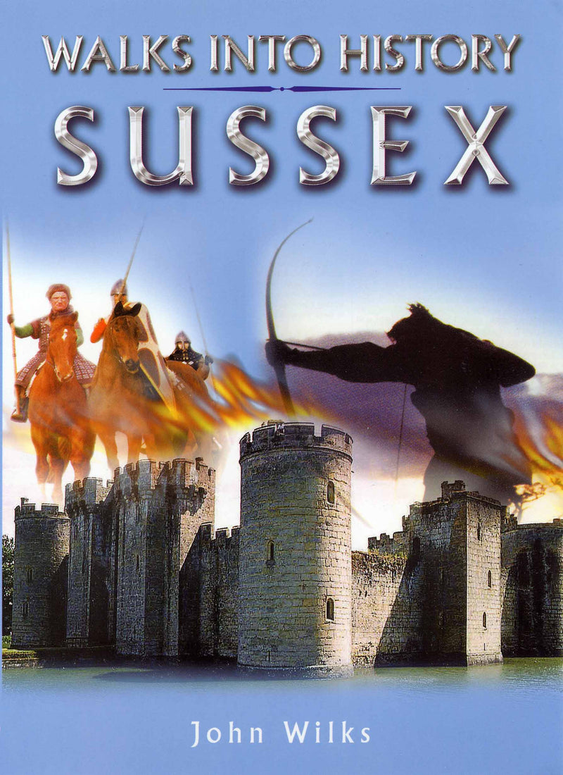 Walks into History Sussex book cover.