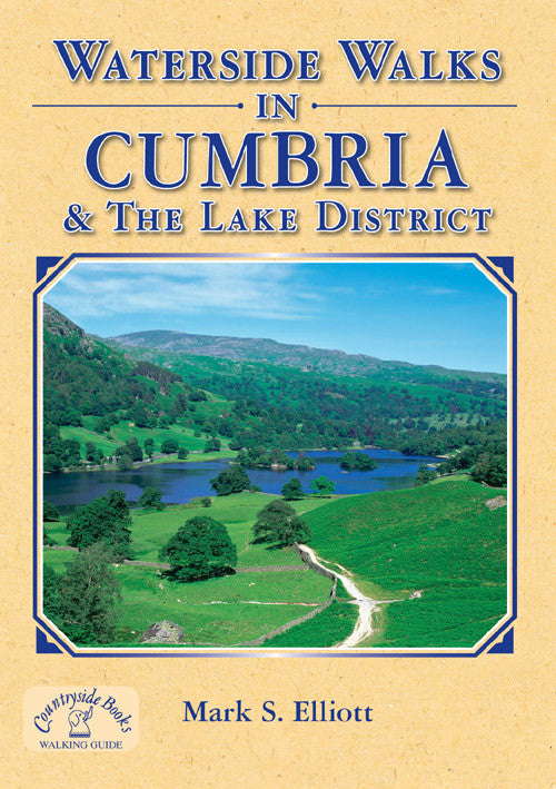 Waterside Walks in Cumbria & the Lake District book cover. River, canal, reservoir walks.