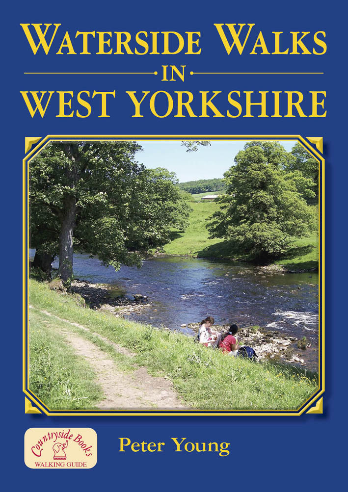 Waterside Walks in West Yorkshire book cover.  20 river and canal walks.