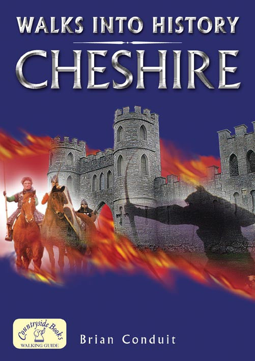 Walks into History Cheshire book cover. Historical walks
