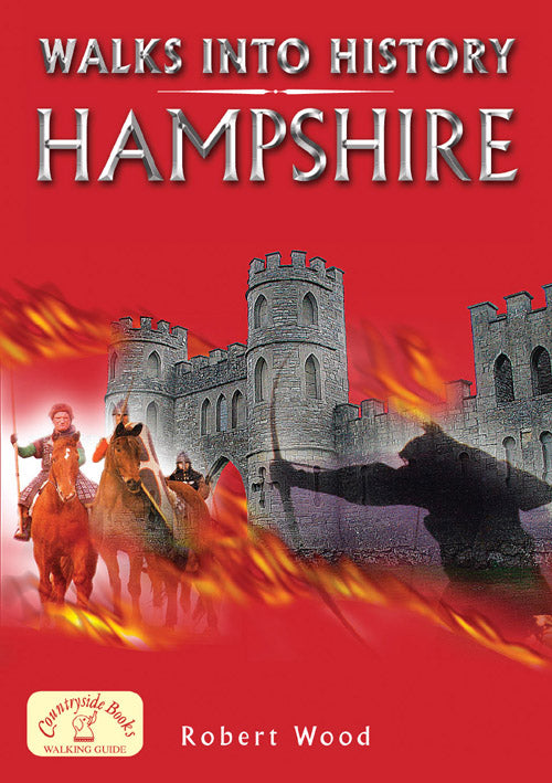 Walks into History Hampshire (walking guide) book cover