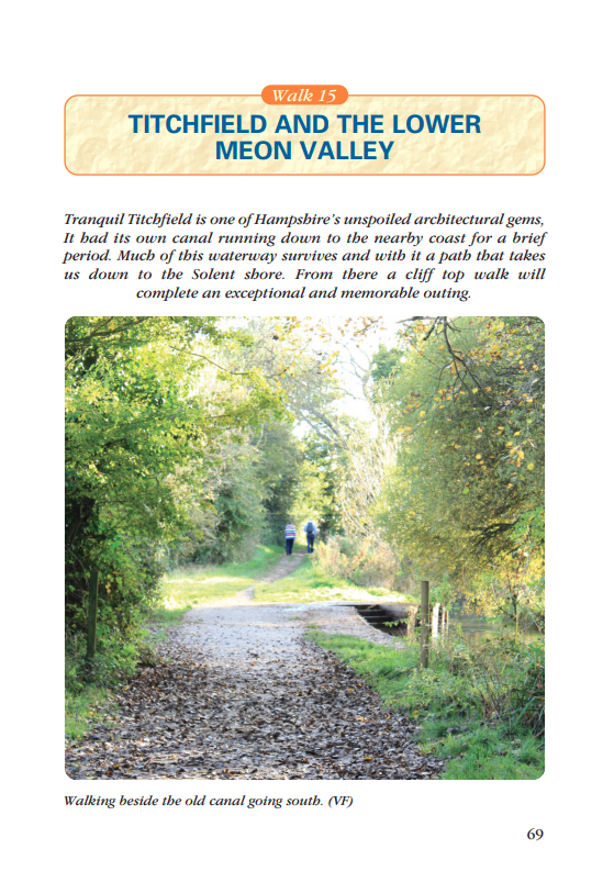 Waterside Walks in Hampshire Titchfield & the Lower Meon Valley walk