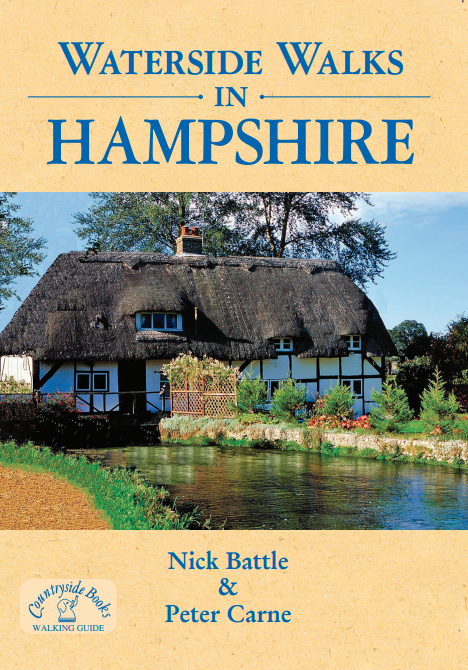 Waterside Walks in Hampshire book cover