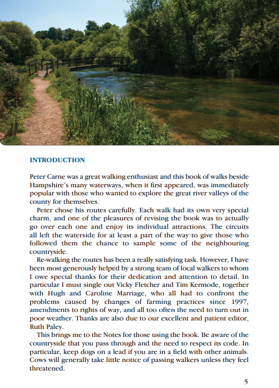 Waterside Walks in Hampshire introduction