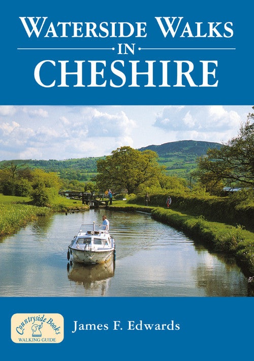 Waterside Walks in Cheshire book cover. River and canal walks.