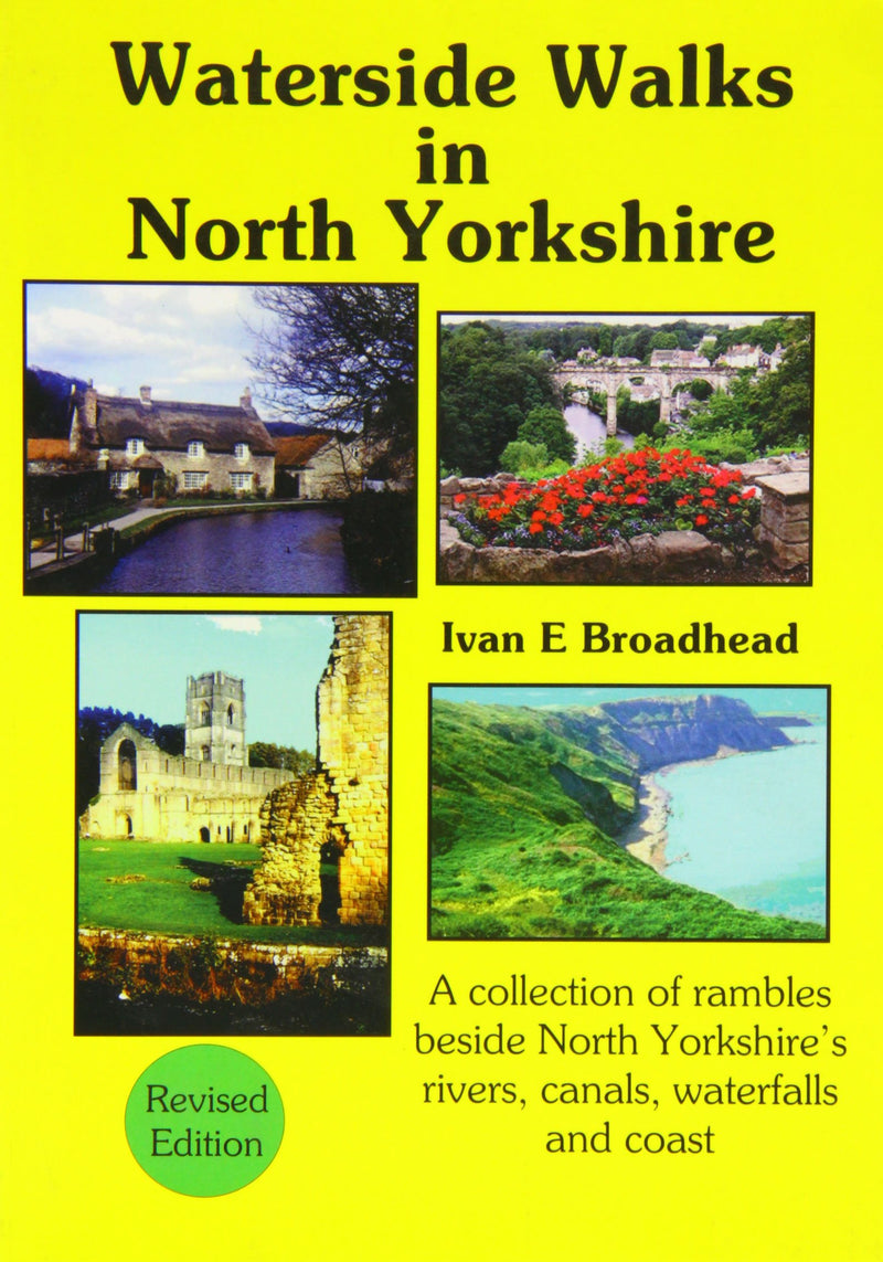 Waterside Walks in North Yorkshire book cover