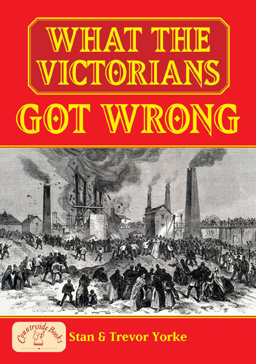 What the Victorians Got Wrong book cover.