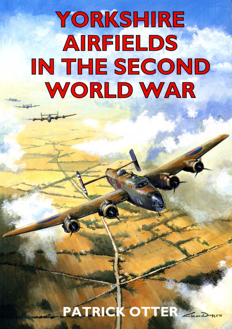 Yorkshire Airfields in the Second World War book cover.