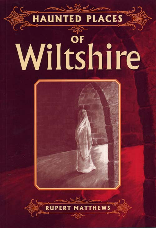 Haunted Places of Wiltshire book cover.