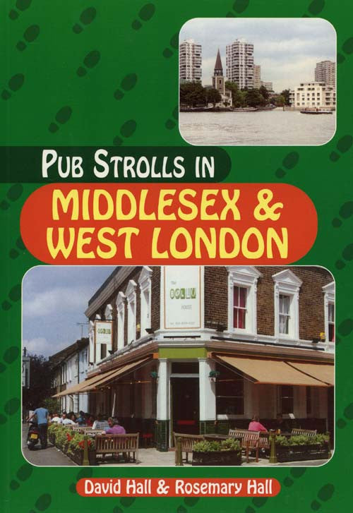 Pub Strolls in Middlesex and West London book cover. Walking guide to the best walks in the area.