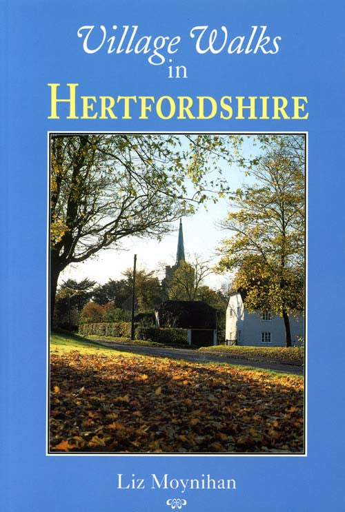 Village Walks in Hertfordshire book cover.