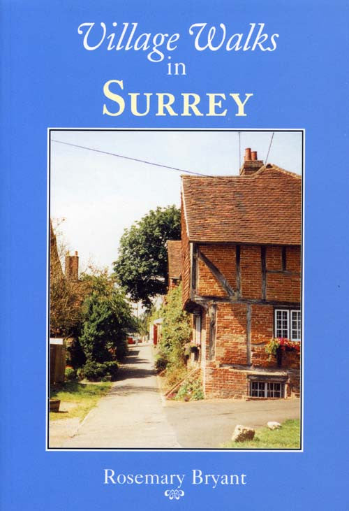 Village Walks in Surrey book cover.