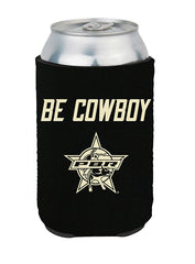 PBR Flag Be Cowboy Koozie