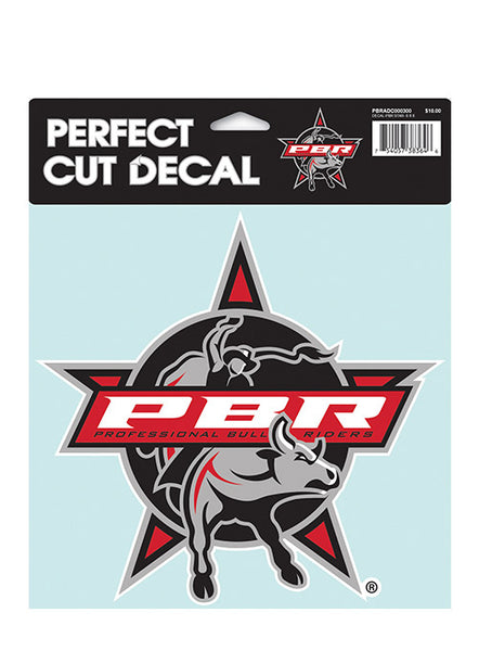 PBR Star 8X8 Decal