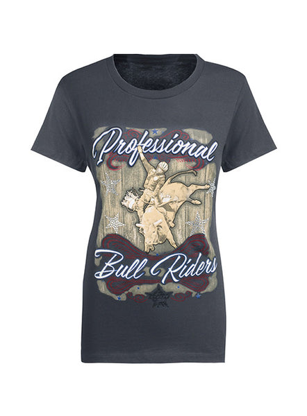 Ladies PBR Rhinestone T-Shirt