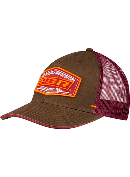 PBR Est 1992 Washed Canvas Structured Mid Profile Cap