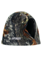 PBR Black & Camouflage Reversible Beanie