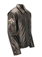PBR Unleash The Beast Black Leather Jacket