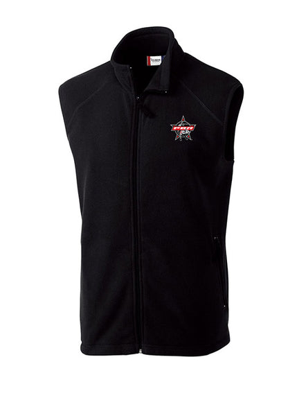 PBR Cutter & Buck Full-Zip Microfleece Vest