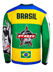 2018 PBR Global Cup Brasil Sublimated Performance Jersey