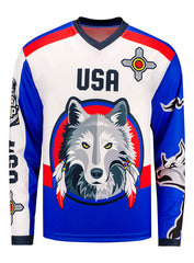 PBR Global Cup USA Native American Sublimated Performance Jersey