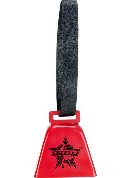 PBR Star Faux Leather Strap Cowbell