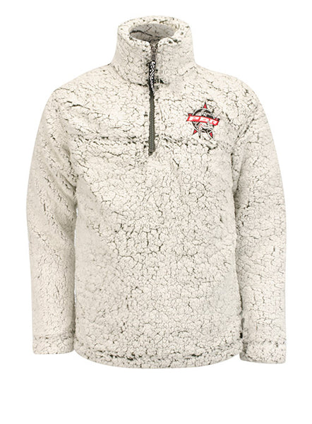 PBR Youth Sherpa Quarter-Zip Pullover