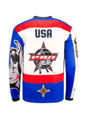 PBR Global Cup USA Native American Sublimated Performance Youth Jersey