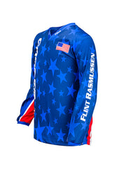 PBR Cooper Tires Stars & Stripes Long Sleeve Youth Jersey