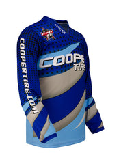 PBR Cooper Tires Blue Curves Youth Jersey