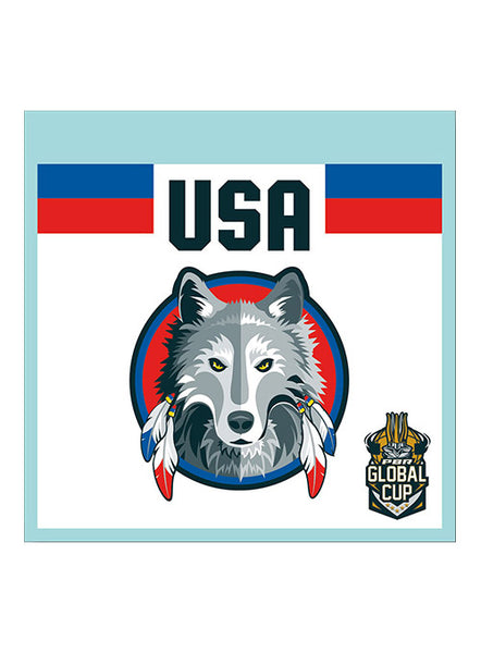 PBR Global Cup USA Wolves Decal