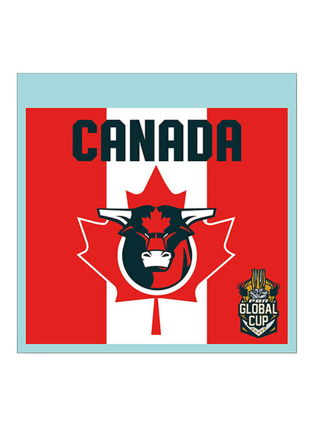 PBR Global Cup Canada Decal