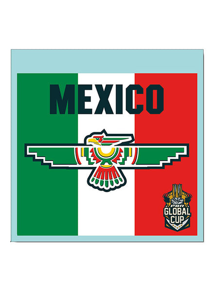 PBR Global Cup Mexico Decal
