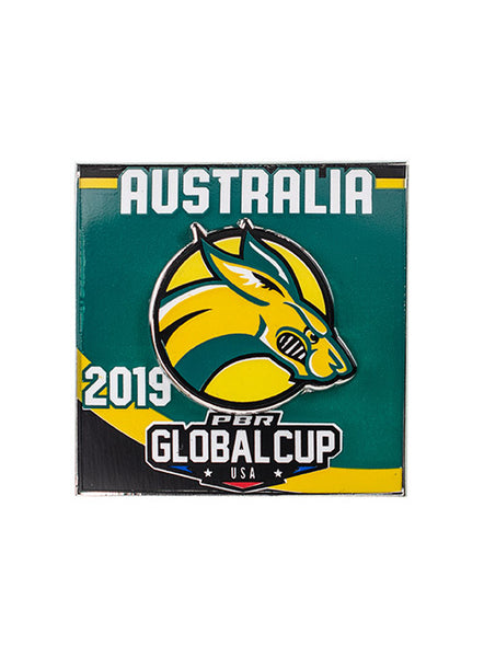 PBR Global Cup Australia Hatpin