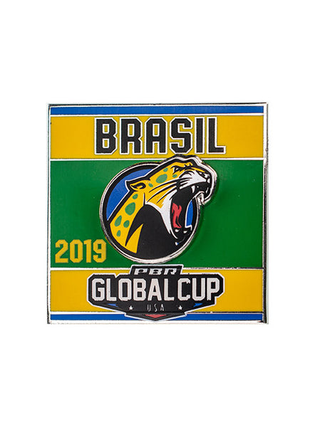 PBR Global Cup Brasil Hatpin