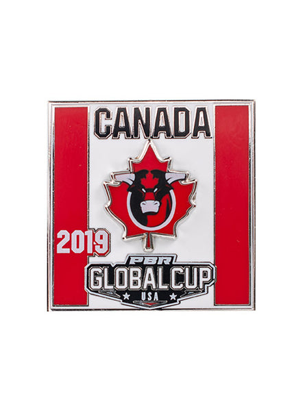 PBR Global Cup Canada Hatpin