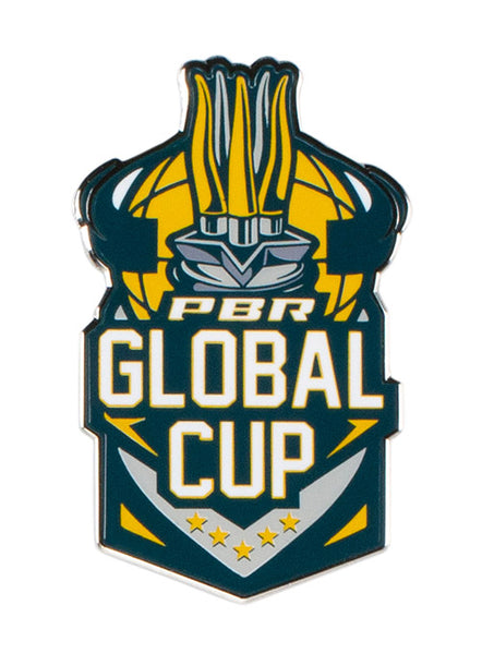 Global Cup Logo Hatpin