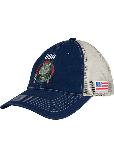 PBR Global Cup Team USA Wolves Hat