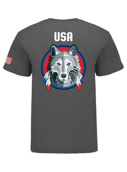 Global Cup USA Team Wolves Mascot Shirt