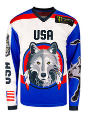 PBR Global Cup USA Wolves Sublimated Jersey