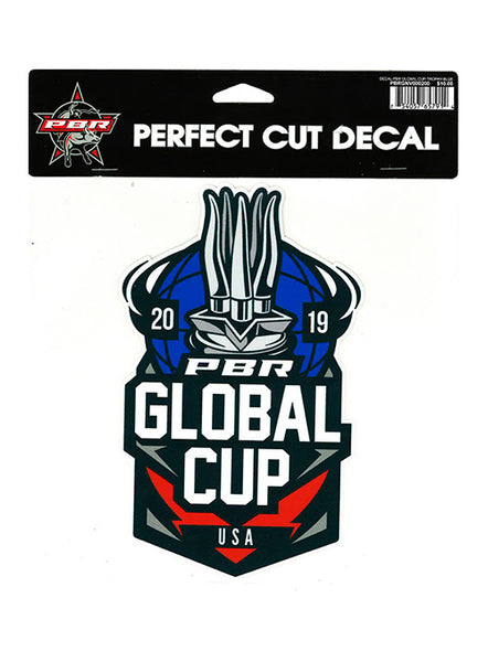 2019 PBR Global Cup 8x8 Decal