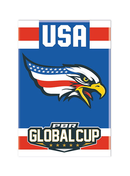 PBR Global Cup USA Eagles Magnet