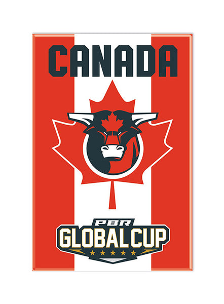 PBR Global Cup Canada Magnet