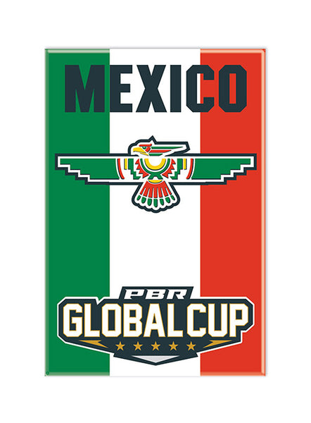 PBR Global Cup Mexico Magnet