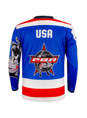 PBR Global Cup USA Eagles Sublimated Youth Jersey