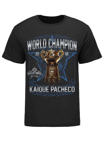 Kaique Pacheco, 2018 PBR World Champion T-Shirt