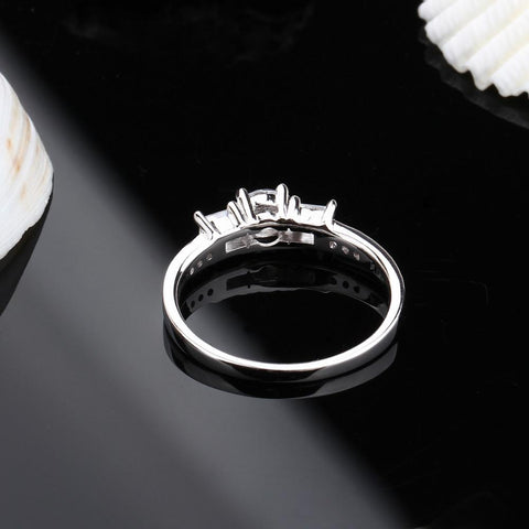 engagement ring for her - Eternity 925 Sterling Silver Ring